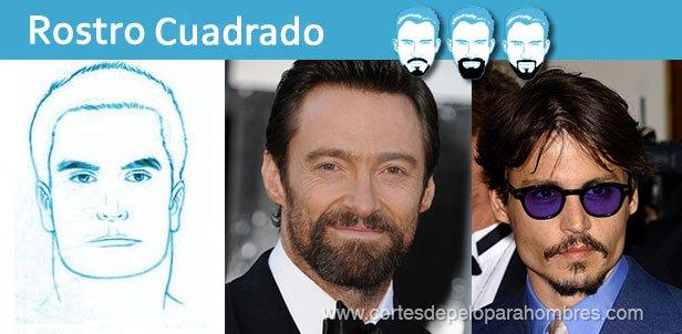 Tipos de Barba Según el Rostro Cuadrado