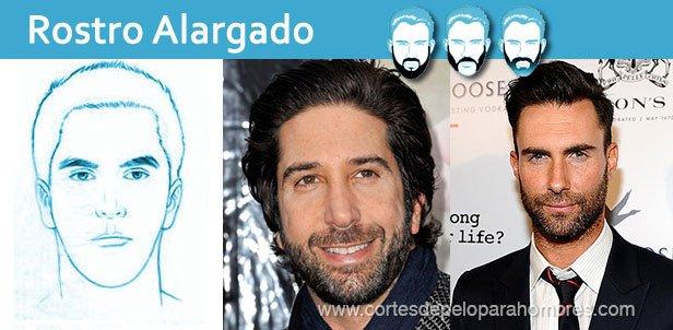 Barba Según el Rostro Alargado