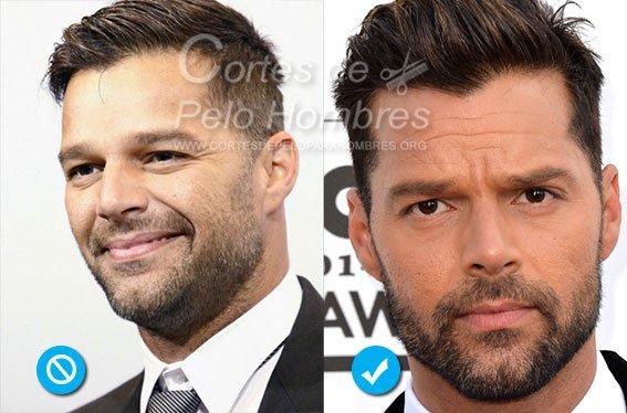 cortes de cabello para hombre 2015 con barba