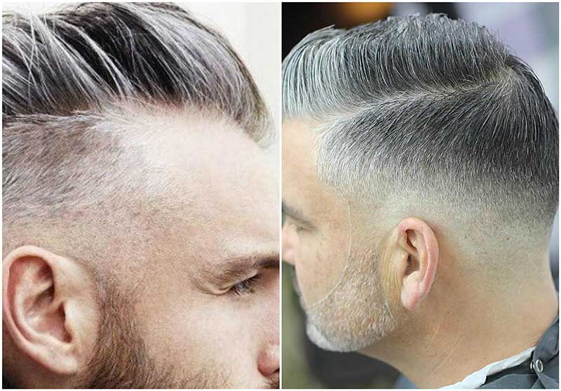 Cortes de pelo para hombres canosos