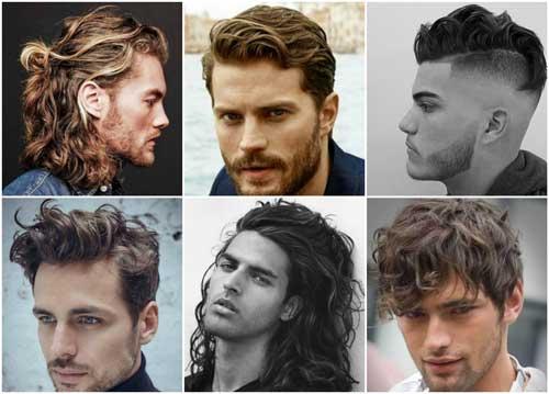 cabello ondulado para hombres
