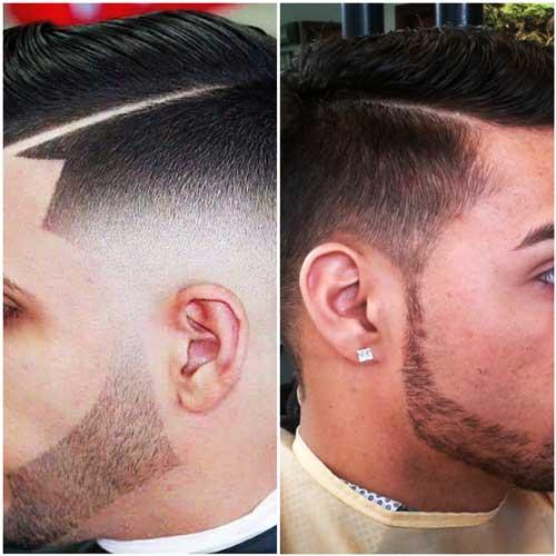 Cortes de estilo con barbas