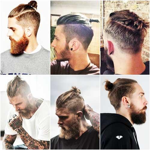 Imágenes de Peinado Man Bun