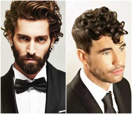 Peinado formal curly