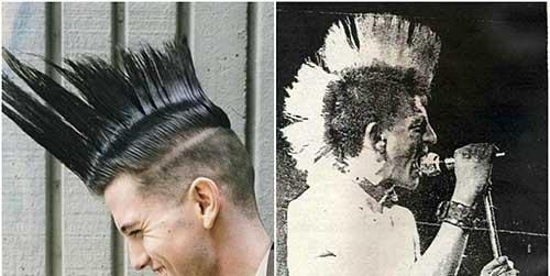 mohawk pelo punk
